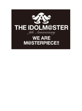"THE IDOLM@STER 9th ANNIVERSARY WE ARE M@STERPIECE!! Blu-ray ""PERFECT BOX!"""