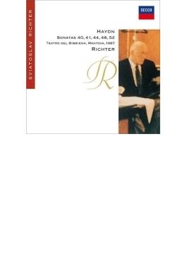 ピアノ・ソナタ第44番、第40番、第41番、第48番、第52番 リヒテル