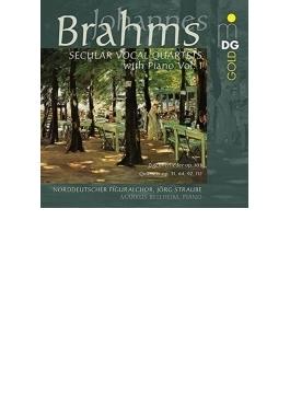 世俗合唱作品集第1集 シュトラウベ&北ドイツ・フィグラル合唱団