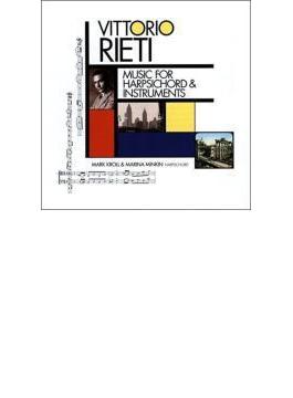 Music For Harpsichord & Instruments: Minkin Kroll(Cemb) C.lieberman(Vn) Esptein(Fl) Etc