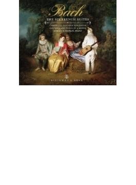 フランス組曲全曲、半音階的幻想曲とフーガ シェプキン(ピアノ)(2CD)