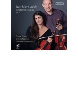 2つのヴァイオリンのためのソナタ作品12 アルモニー・ウニベルセル