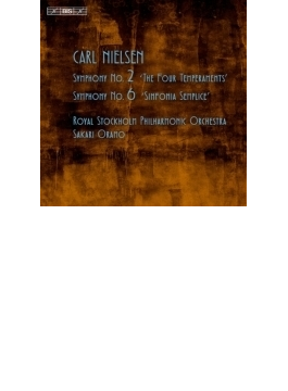 交響曲第2番『4つの気質」、第6番『素朴な交響曲』 オラモ&ロイヤル・ストックホルム・フィル