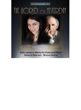 『20世紀のフルートとピアノのための作品集~ピエルネ、ピラーティ、カルク=エーレルト、ダマーズ』 ペトルッチ、カニーノ