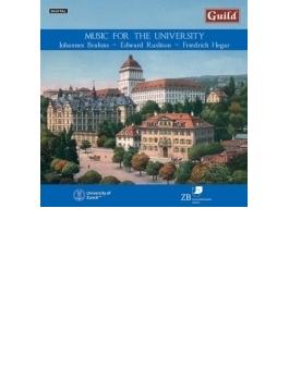 Music For The University Scheuber / Winterthur Zurich Akademischer Cho