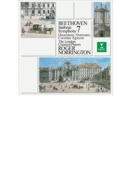 交響曲第7番、序曲『コリオラン』、『エグモント』序曲 ノリントン&ロンドン・クラシカル・プレイヤーズ