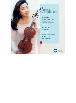 シベリウス:ヴァイオリン協奏曲、メンデルスゾーン:ヴァイオリン協奏曲 サラ・チャン、ヤンソンス&ベルリン・フィル