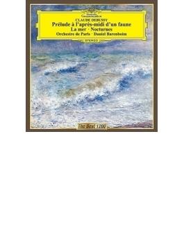 交響詩『海』、牧神の午後への前奏曲、夜想曲 バレンボイム&パリ管弦楽団(1978、81)