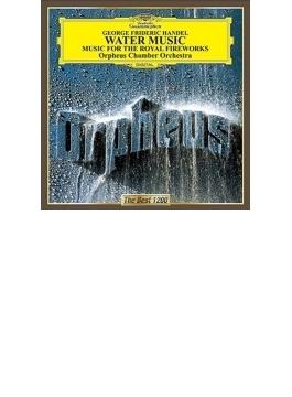 水上の音楽、王宮の花火の音楽 オルフェウス室内管弦楽団