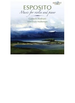 ヴァイオリンとピアノのための作品集 アドリアーニ、マルテンポ