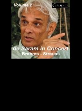 Rohan De Saram: In Concert Vol.2-boccherini, Brahms, Dillon, Ravel, R.strauss