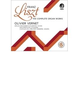 オルガン作品全集、オルガンとピアノのための作品集 ヴェルネ、カバッソ(6CD)