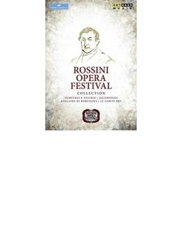 ロッシーニ音楽祭コレクション~オリー伯爵、デメトリオとポリビオ、シジスモンド、ブルゴーニュのアデライーデ(6DVD)