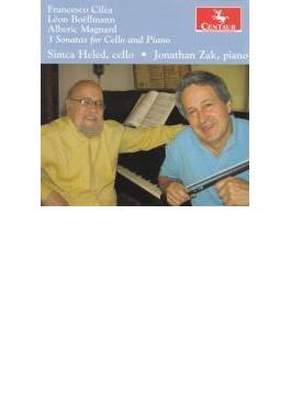Cilea, Boellmann, Magnard: Cello Sonata: S.heled(Vc) J.zak(P)