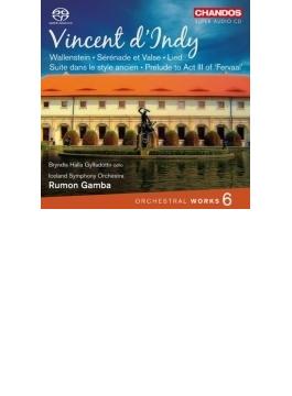 管弦楽曲集第6集~交響詩『ヴァレンシュタイン』、『フェルヴォル』第3幕への前奏曲、他 ガンバ&アイスランド響