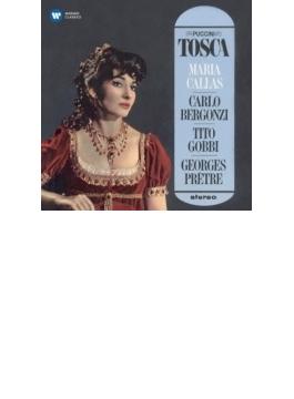 『トスカ』全曲 プレートル&パリ音楽院管、カラス、ベルゴンツィ、ゴッビ、他(1964~65 ステレオ)(2SACD)