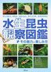 水生昆虫観察図鑑 その魅力と楽しみ方 ゲンゴロウ、タガメ、コオイムシ、タイコウチ、ミズカマキリ