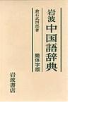 岩波中国語辞典 簡体字版