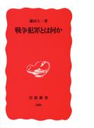 戦争犯罪とは何か (岩波新書 新赤版)(岩波新書 新赤版)