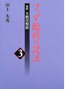 ブッダ臨終の説法 完訳大般涅槃経 3