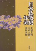 日本仏教史年表