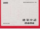 建築申請memo 2000