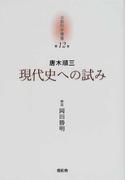 京都哲学撰書 第12巻 現代史への試み