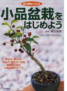 小品盆栽をはじめよう 和の植物にふれる