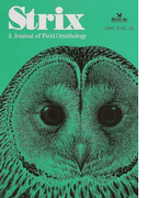 Strix A journal of field ornithology Vol.20(2002)