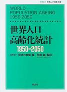 世界人口高齢化統計 1950−2050