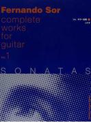 ソル・ギター全集 1 ソナタ