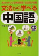 文法から学べる中国語 実践力をつける練習問題・会話例が満載