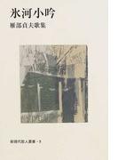 氷河小吟 雁部貞夫歌集 (新現代歌人叢書)
