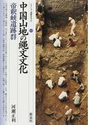 中国山地の縄文文化・帝釈峡遺跡群 (シリーズ「遺跡を学ぶ」)