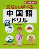文法から学べる中国語ドリル 書き込み式