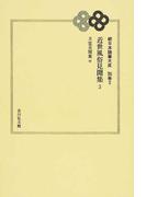 日本随筆大成 オンデマンド版 続 別巻3 近世風俗見聞集 3