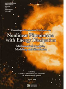 Nonlinear Phenomena with Energy Dissipation Proceedings of International Conference on Mathematical Analysis,Modeling and Simulation (GAKUTO International Series Mathematical Sciences and Applications)