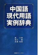 中国語現代用語実例辞典