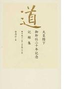 道 平成11年〜平成20年 天皇陛下御即位二十年記念記録集