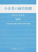 小企業の経営指標 建設業、製造業 2009