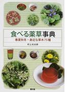 食べる薬草事典 大地の薬箱 春夏秋冬・身近な草木75種