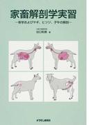 家畜解剖学実習 骨学およびヤギ、ヒツジ、子牛の解剖