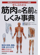 ぜんぶわかる筋肉の名前としくみ事典 部位別にわかりやすくビジュアル解説
