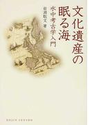 文化遺産の眠る海 水中考古学入門 (DOJIN選書)
