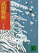 武田勝頼(二) 水の巻(講談社文庫)