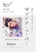 サブリナ・ペーパー vol.003