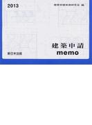 建築申請memo 2013