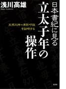 日本書紀に見る立太子年の操作