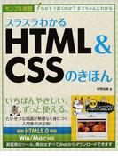 スラスラわかるHTML&CSSのきほん サンプル実習