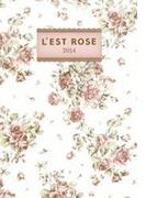 L'EST ROSE手帳 2014